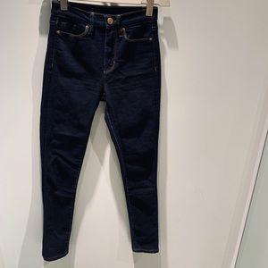 BDG Dark High waisted skinny jeans